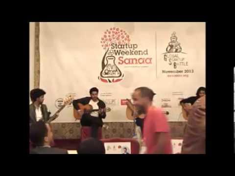 Amigos Band at Sanaa Startup Weekend - Nov 2013