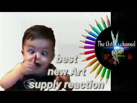 My face when im buying new Art supplies- The Artist's Channel