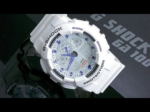 1c0cd787e07 G Shock GA 100 Features (All You Need To Know) - YouTube