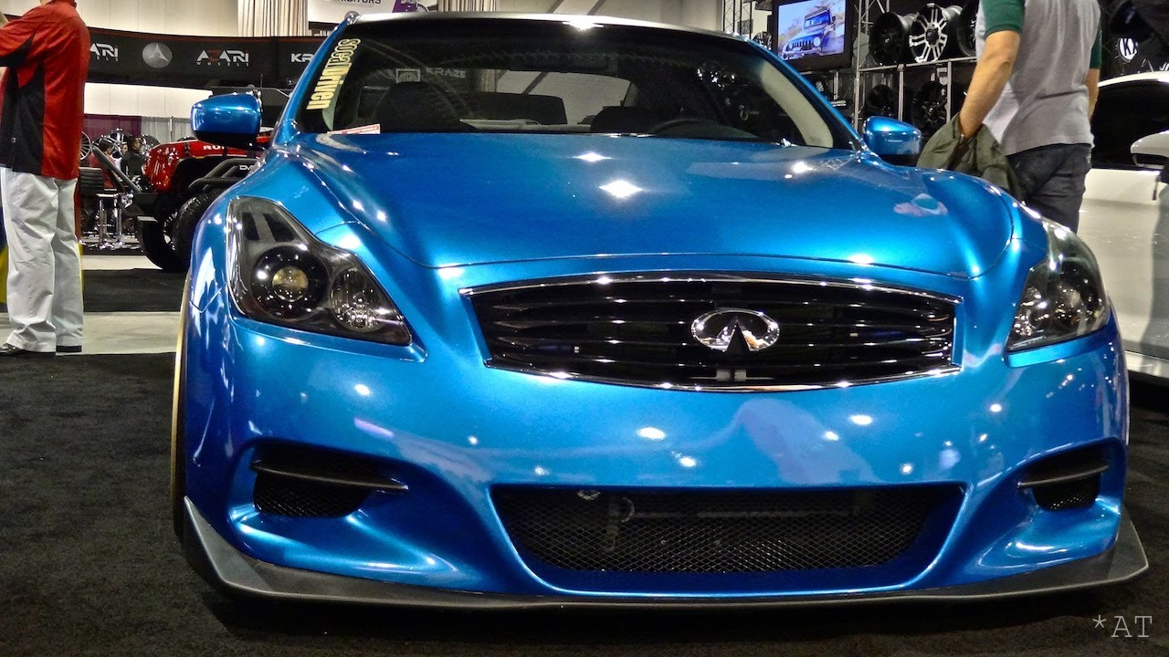 Blue g37 sema 2013 youtube vanachro Images