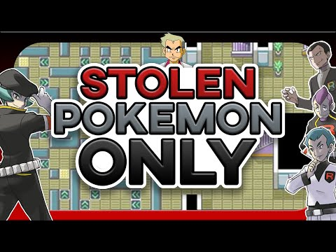 Can You Beat Pokemon Team Rocket Edition With Only Stolen Pokemon ?! (no Items Fire Red Rom Hack)