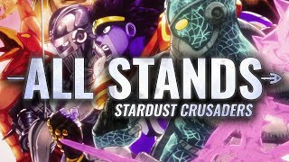 ALL STANDS IN STARDUST CRUSADERS thumbnail