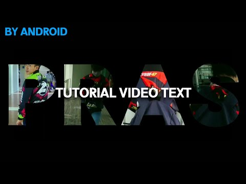 Cara edit video text di android