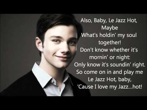 Glee - Le Jazz Hot ~Lyrics!