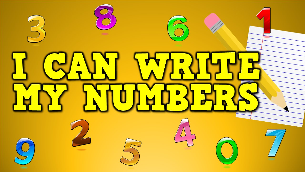 I Can Write My Numbers! (writing numbers 23-23 for kids)