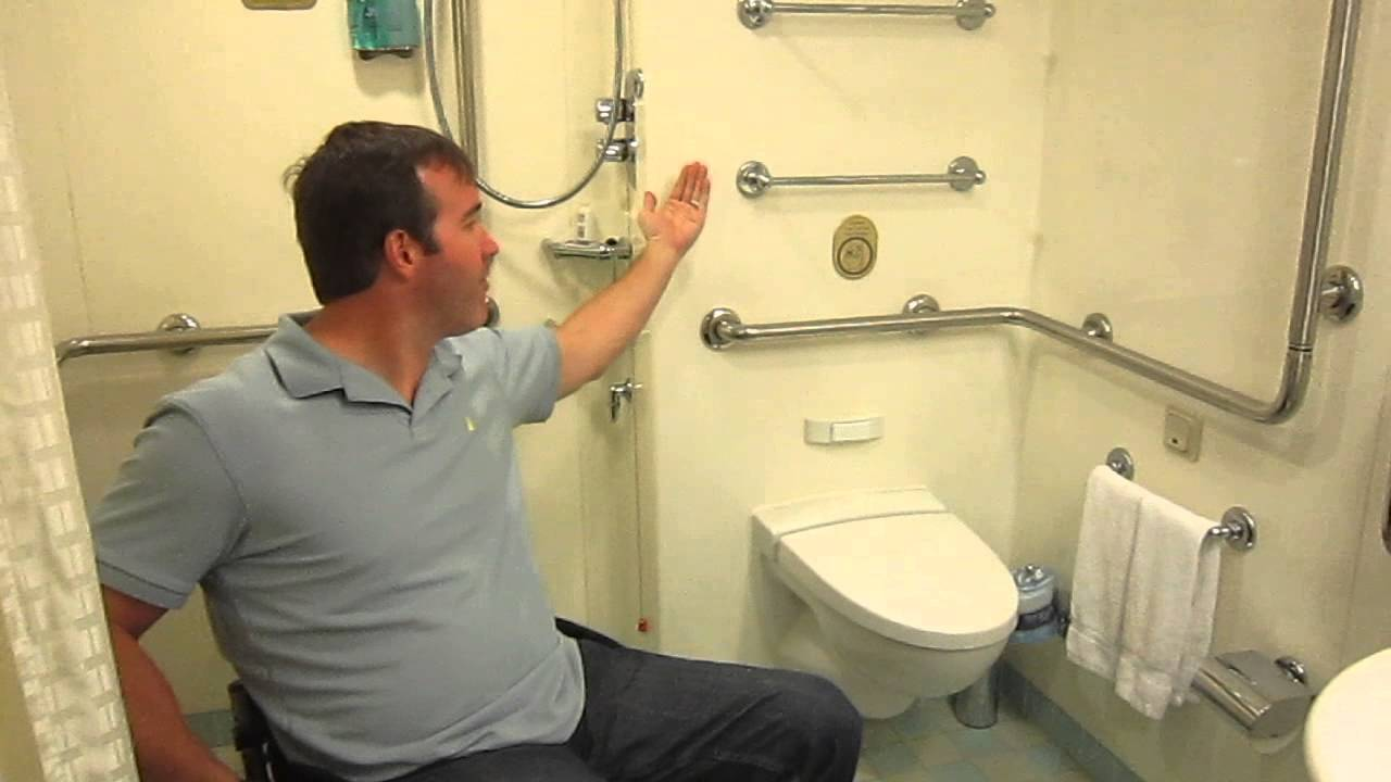 Accessible Cabin on the Caribbean Princess  Sage