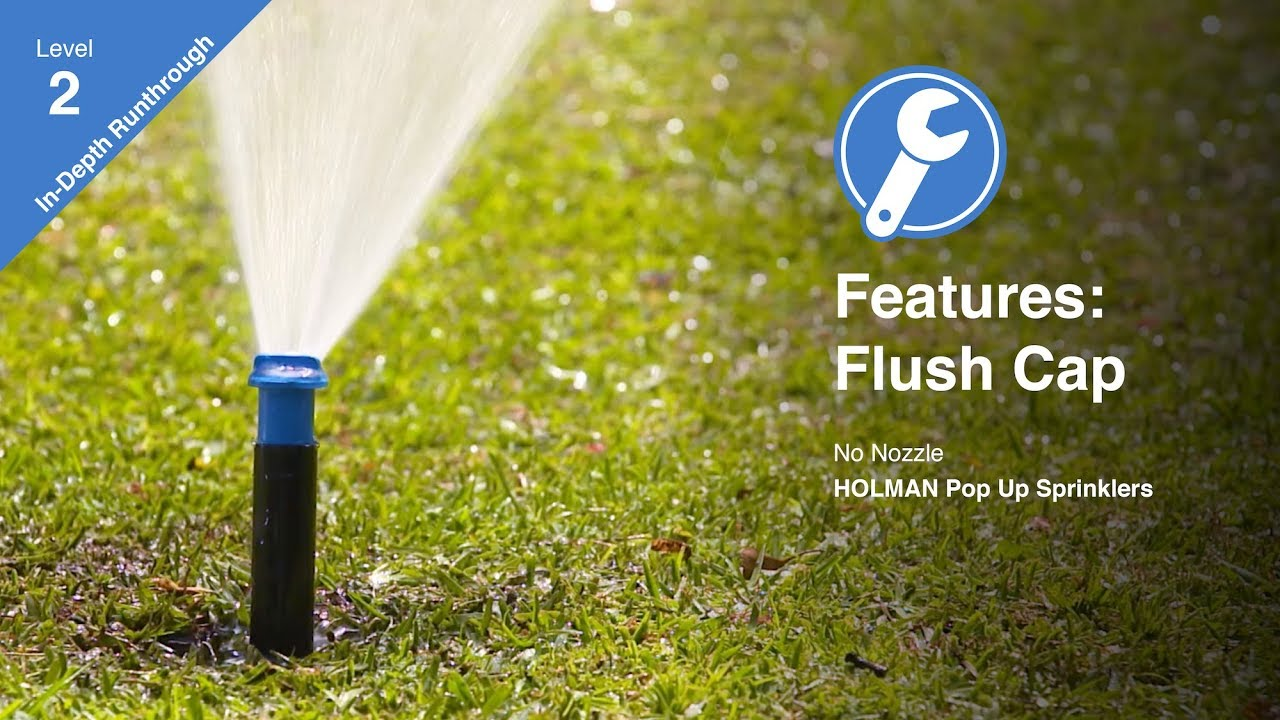 Features Of The K Rain Flush Cap Sprinkler Youtube