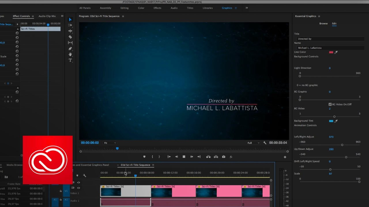 Motion graphic templates in premiere pro cc april 2017 adobe creative cloud youtube for Adobe premiere pro templates free