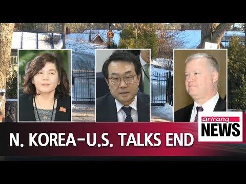 N. Korea, U.S. end working-level talks in Sweden to prepare for second Kim-Trump summit