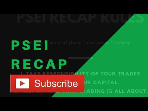 PSEi Recap Weekly - September 23, 2019