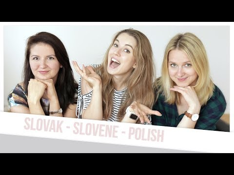 Can Poles, Slovaks and Slovenes understand each other? ♡ Test with Tjaša ♡