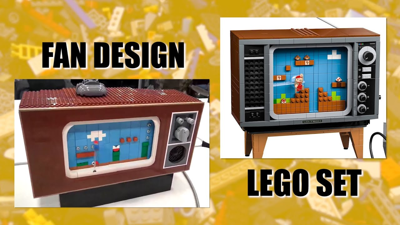 Did LEGO Steal the NES Set Design?