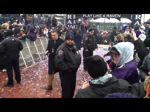 2013 Baltimore Ravens Super Bowl XLVII Send-Off