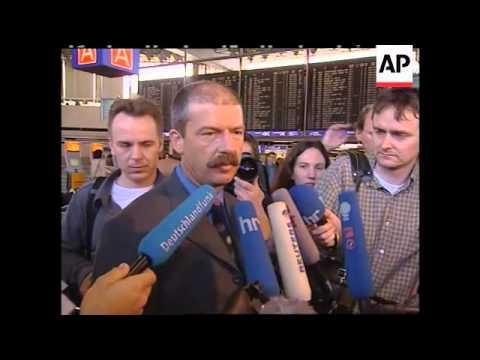 Germany pilots strike causes disruption at Frankfurt airport