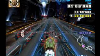 """F-Zero GX 4K 60 fps Time Attack: Casino Palace Double Branches (2'39""""414)"""