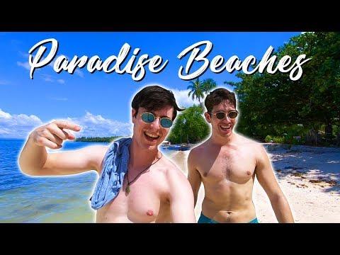 AMAZING Paradise Beaches on Panglao Island (BOHOL) - Philippines Travel Vlog
