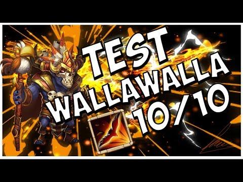 [Castle Clash] TEST WALLAWALLA 10/10!