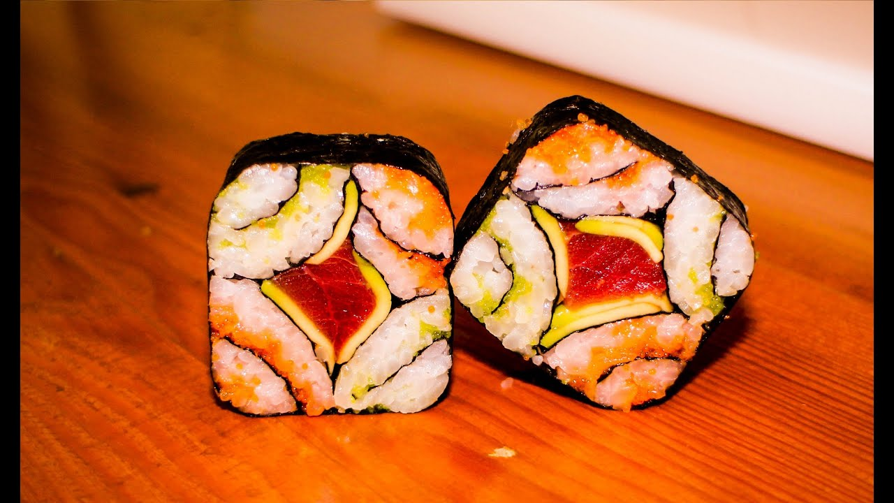 Mosaic sushi roll recipe japanese food recipe youtube forumfinder Choice Image