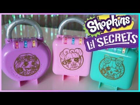 Shopkins Lil' Secrets Secret Locks   First Impressions Review!
