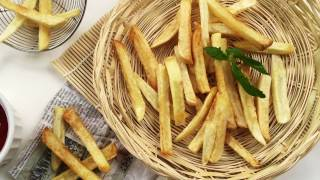 french fry recipe in hindi