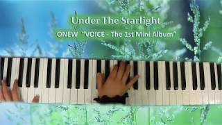 190314_ ONEW『 Under The Starlight (VOICE - The 1st Mini Album) 』Piano by ear