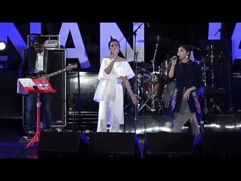 Raisa & Isyana Sarasvati - Anganku Anganmu - Prambanan Jazz 2017