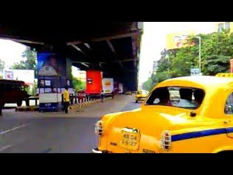 Kolkata, Park Street traffic (Nokia N95 video)