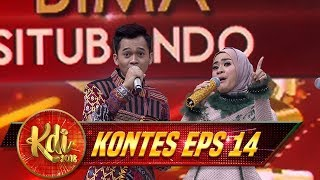 Memang Beruntung BGT Bima Bisa Duet Bareng Ikke Nurjanah - Kontes KDI Eps 14 (23/8)