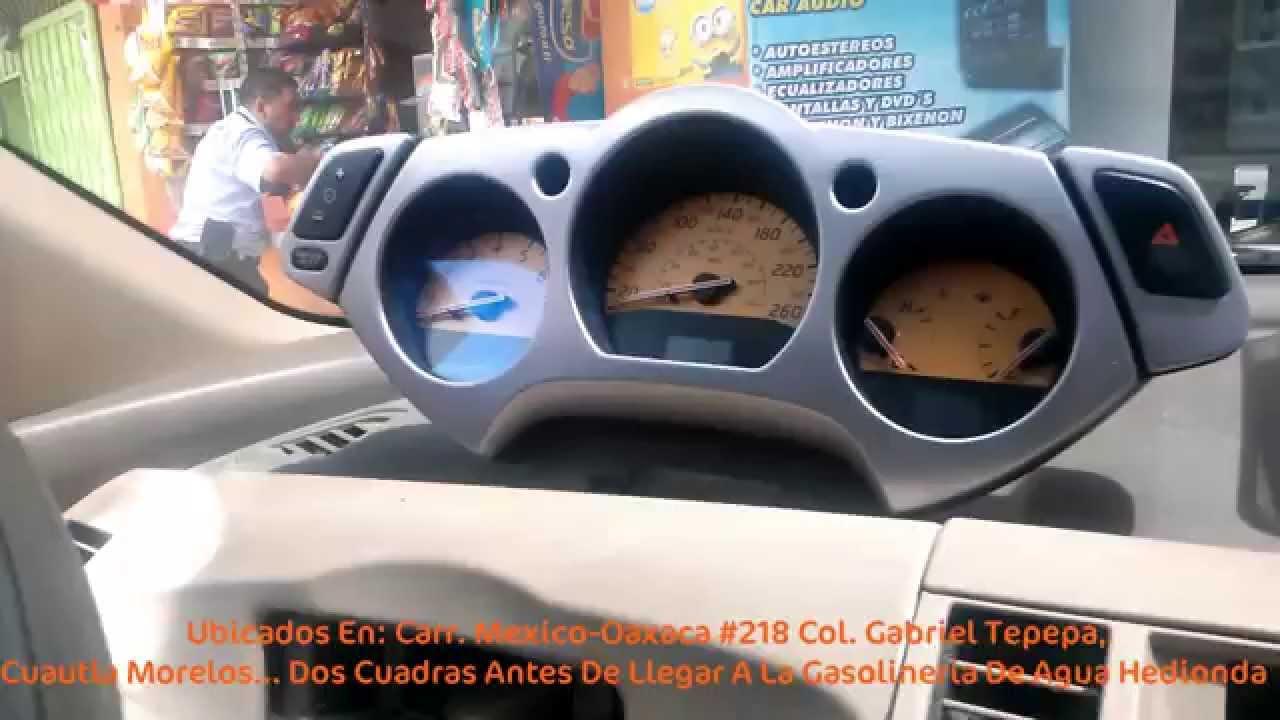 Desmontar Tablero Nissan Murano Jmk Youtube