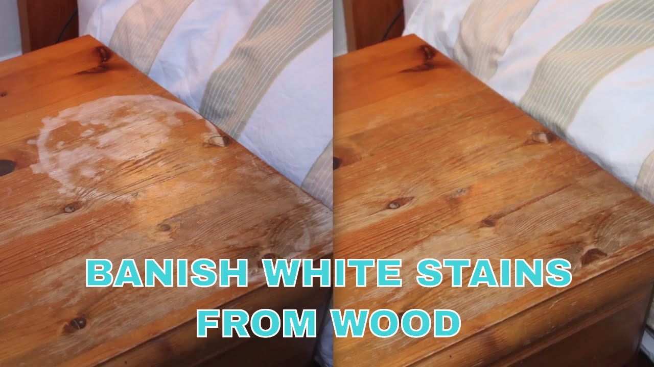 Iron Out White Water Stains From Wooden Furniture You