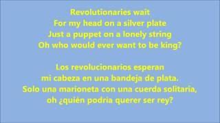 viva la vida - coldplay (letras-lyrics)