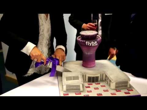 Flybe purple reigns at Birmingham Airport!