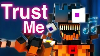 "FNAF SISTER LOCATION SONG | ""Trust Me"" [Minecraft Music Video]…"