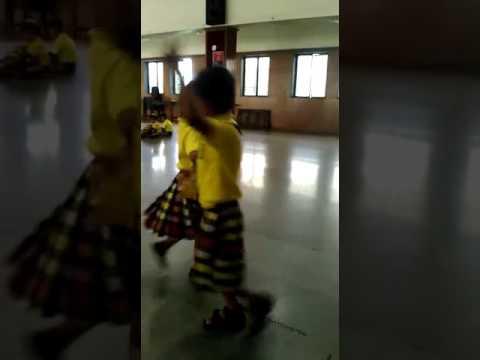 25 july 2017 st. John Baptist jr kg dance rehearsal