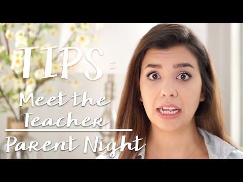 Teacher Tips ~ Meet the Teacher / Parent Night
