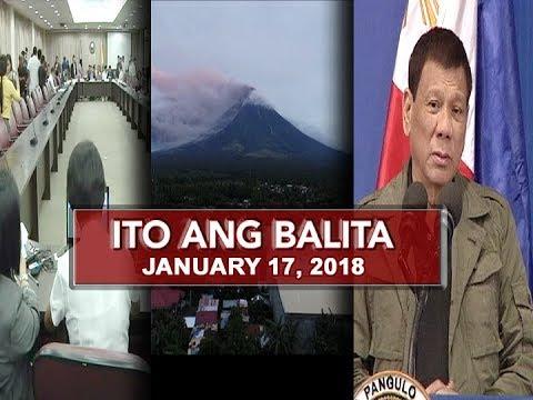 UNTV: Ito Ang Balita (January 17, 2018)