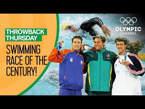 """The (Swimming) Race of the Century"" at the Athens 2004 Olympic Games 