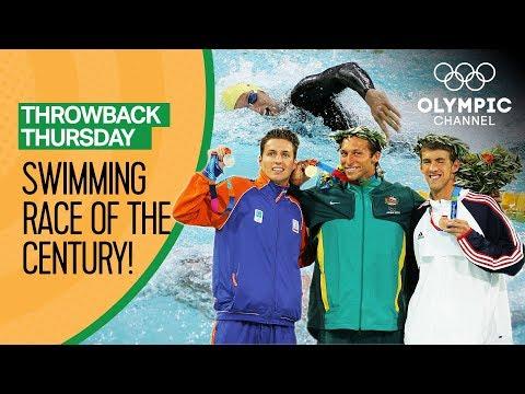 Phelps vs Thorpe vs van den Hoogenband - Men's Freestyle 200m at Athens 2004 | Throwback Thursday