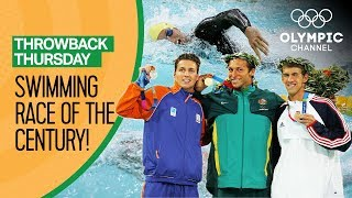 Phelps vs Thorpe vs van den Hoogenband - Men's Freestyle 200m at Athens 2004 | Throwback Thursday