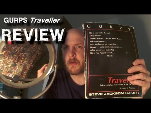 Traveller RPG 3rd Imperium Universe-Where to Start?-GURPS Traveller line review.