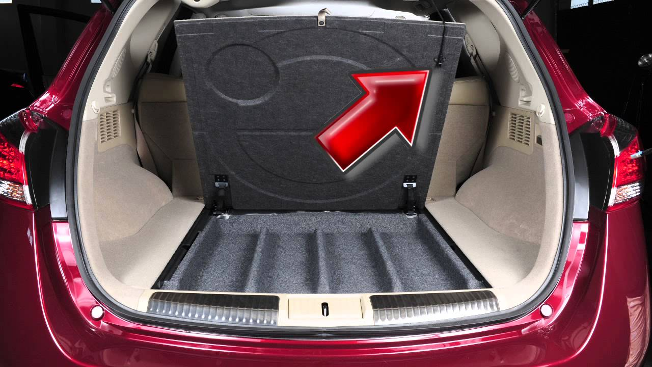 2012 Nissan Murano Spare Tire And Tools Youtube