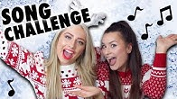 HILARIOUS CHRISTMAS SONG CHALLENGE WITH MY BEST FRIEND!!