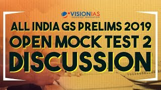 All India GS Prelims Open Mock Test 02 Discussion