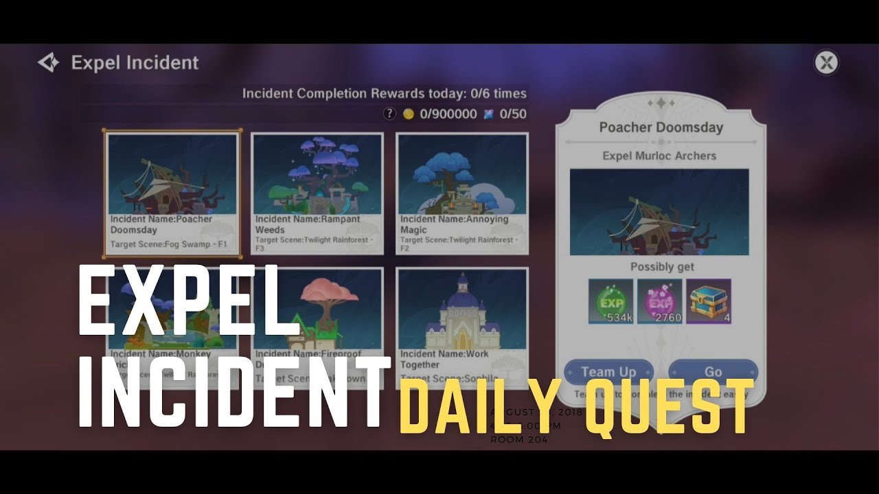 Highest Fairies Exp And Crystals Expel Incident