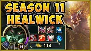 WTF! NEW SEASON 11 HEALWICK WARWICK IS IMPOSSIBLE TO KILL! WARWICK SEASON 11! - League of Legends