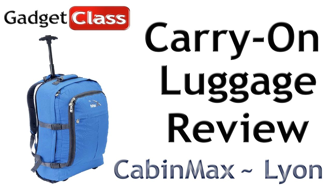 review cabinmax lyon carry on size approved luggage spirit