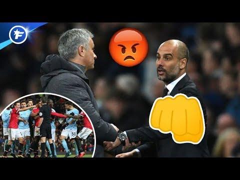 Bouillante altercation entre Mourinho et le vestiaire de City | Revue de presse