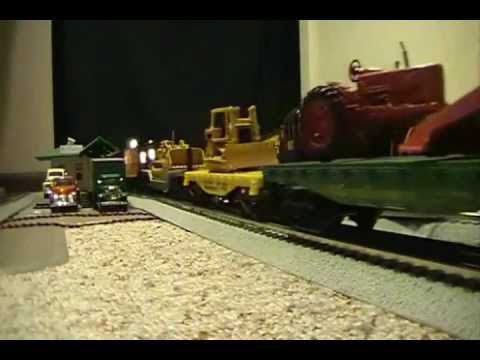 Hometown Carpet Railroad -- Freight Operations