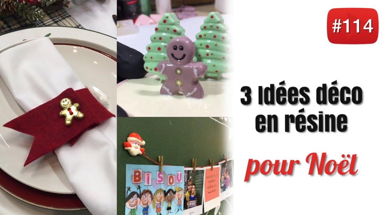 Rond De Serviette A Fabriquer Pour Noel 3 idées déco de noël en 3 heures : top chrono !