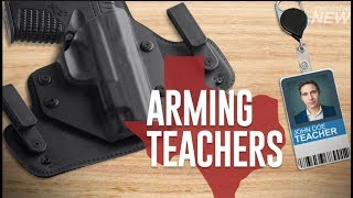 ARMING TEACHERS, FIRST FLORIDA AND NOW TEXAS
